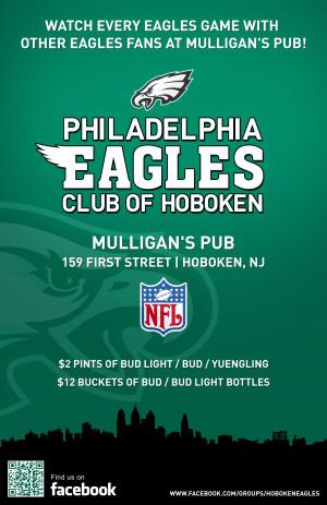 Philadelphia Eagles Club of Hoboken FAQ