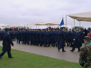 Ab Lindstamers Air Force Basic Training Graduation picture