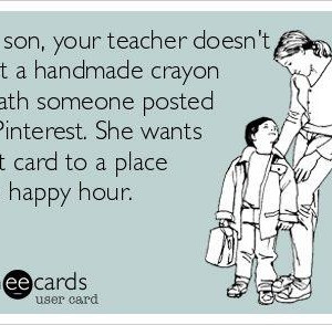 Teacher Appreciation week is coming!!