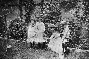 The Children 39 s Garden Old Time Gardens by Alice Morse Earle 1901