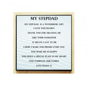 Personalised Wooden Step...