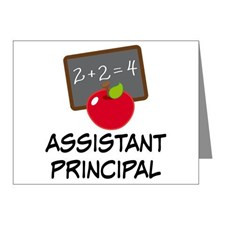 Assistant Principal Thank You Cards & Note Cards