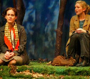Sarah Paulson & Lily Rabe in Colder than Here