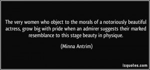More Minna Antrim Quotes