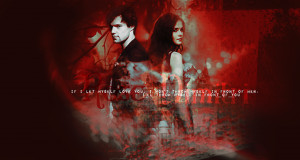 The Vampire Academy Blood Sisters Rose & Dimitri Wallpaper