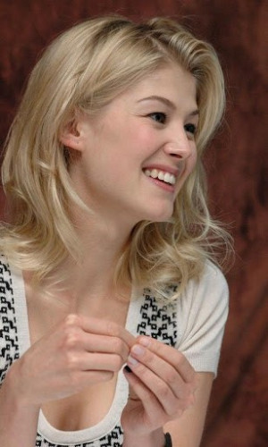 Stunning Hot Rosamund Pike