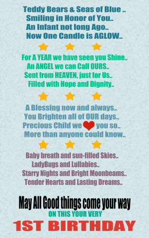 st birthday quotes quote photos baby boy 1st birthday poems
