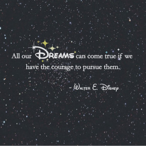 disney, dreams, phrases