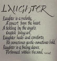 ... creative living art laughter heals and comforts ~ Laughter Quote