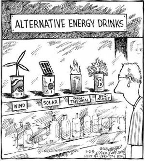 Alternative Energy Drinks