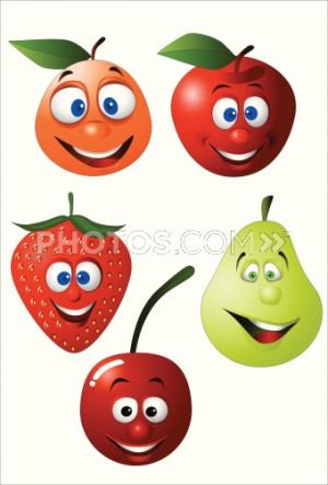 ... Fruit Orange Banana Raspberry With Cute Funny Sayings wallpaper