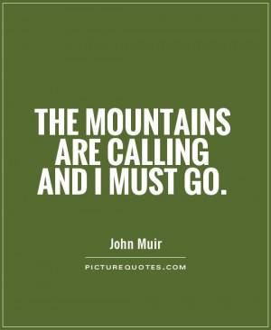 Mountain Quotes and Sayings