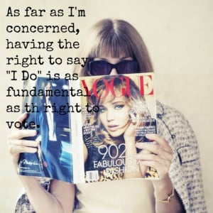Equality For All Quotes Anna-wintour-quote-marriage-