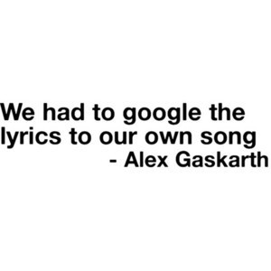 Alex Gaskarth Quote All Time Low - Polyvore