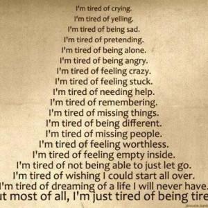 depression, feeling, life, open, quotes, same, sick, sorrow