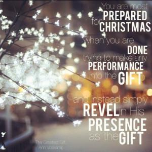 Presence.Ann Voskamp Christmas, Rest Christmas, Anne Voskamp Christmas ...