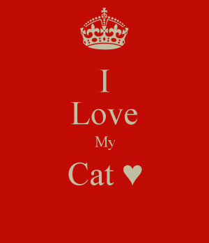 Quotes Pictures List: I Love My Cat