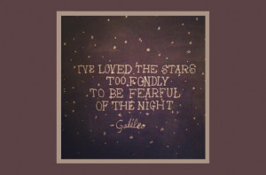 Galileo stars quote