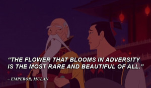 Disney Quotes Emperor, Mulan by qazinahin
