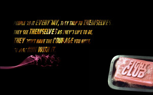 Quotes fight club soap tyler durden wallpaper background