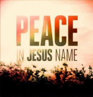 jesus quotes about peace quotesgram