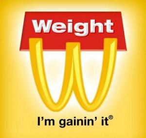 Funny Food Advertisement Print