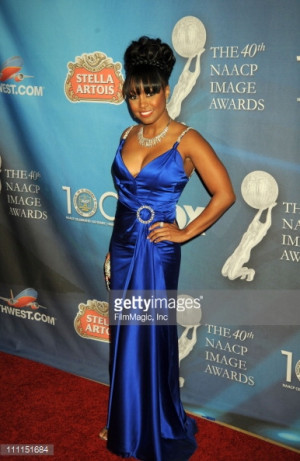 Caption Actress Keshia Knight Pulliam Attends The 40th NAACP Image