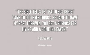 Jesus Christ Quotes From the Bible