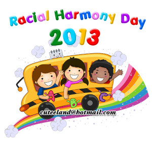 racial harmony day colouring pages (page 2)