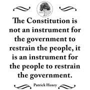 patrick henry quote the constitution edward abbey quote defend your