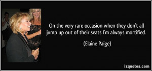 More Elaine Paige Quotes