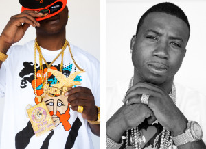 Gucci Mane Quotes - two twins with no top and two glocks