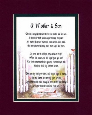 Poems For Sons, Daughters, Step-Children & Teens A Mother & Son ...