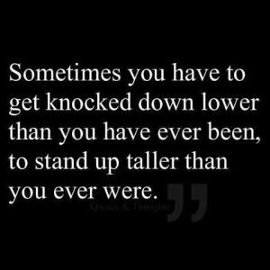 Stand up taller