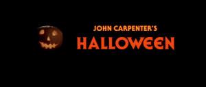 John Carpenter's Halloween.