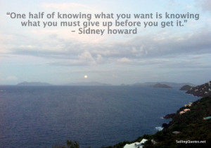ocean photo, islands, inspirational quote