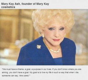 Inspirational business quotes mary kay ash