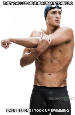 Ryan Lochte pick-up-lines