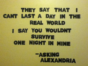 Asking Alexandria Quotes Lyrics
