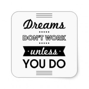 Three Word Inspirational Quotes Stickers