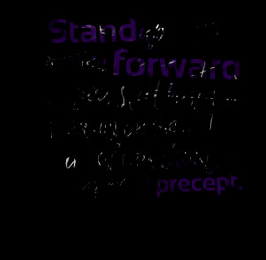 Quotes Picture: stand up then moving forward you still have a good leg ...