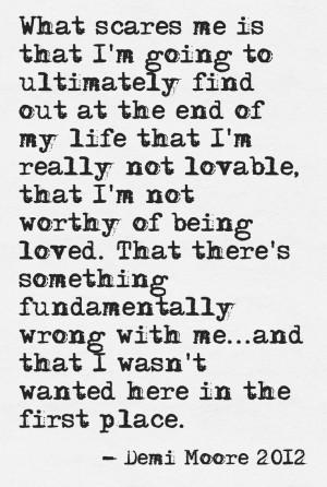 Demi Moore 2012 #quote