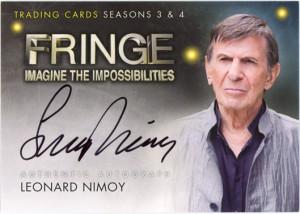 Leonard Nimoy Returns To Fringe