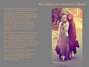 men higher then women