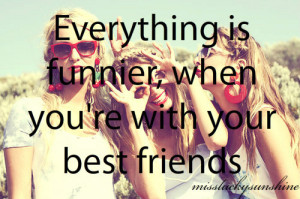 best friends, blonde, earrings, fun, funnier, funny, girl, girls ...
