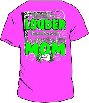 Cute Cheer Shirts Cute cotton - cheer mom