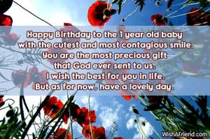 Happy 1st Birthday Boy Quotes Happy birthday to the 1