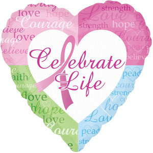 Celebrate Life Foil Balloon