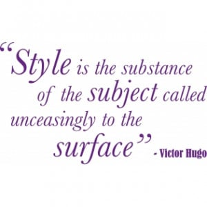 stickers by theme quotes victor hugo style quote wall sticker