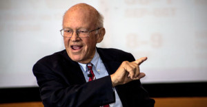 Ken Blanchard shares leadership mantras with ISB students